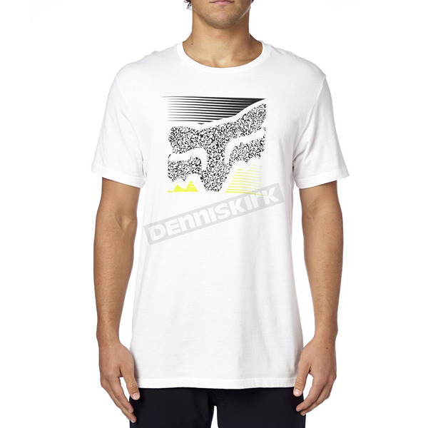 Fox Optic White Home Bound T-Shirt - 16427-190-S