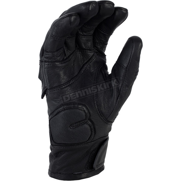 Klim Black Short Adventure Gloves - 5031-001-170-000