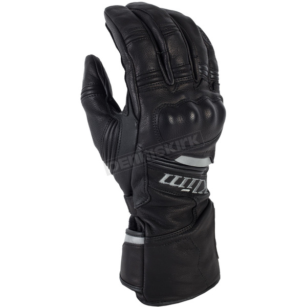 Klim Black Long Quest Gloves - 3377-000-130-000