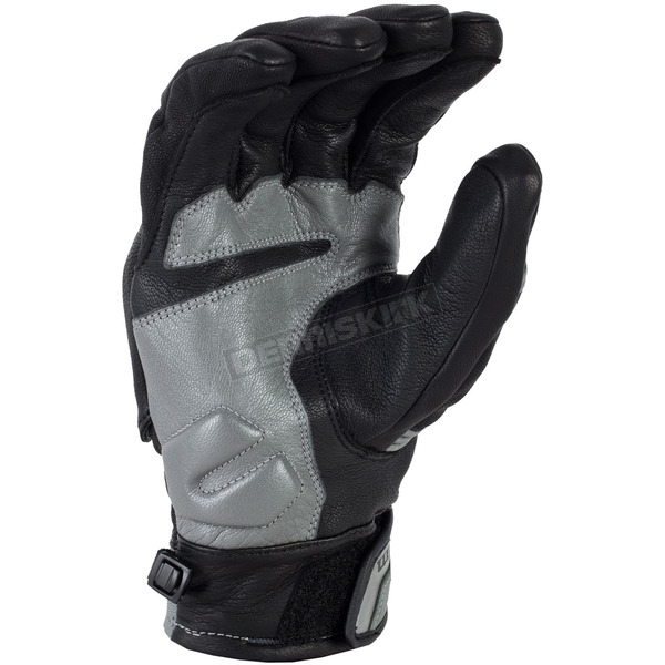 Klim Black/Gray Short Quest Gloves - 3347-000-130-600