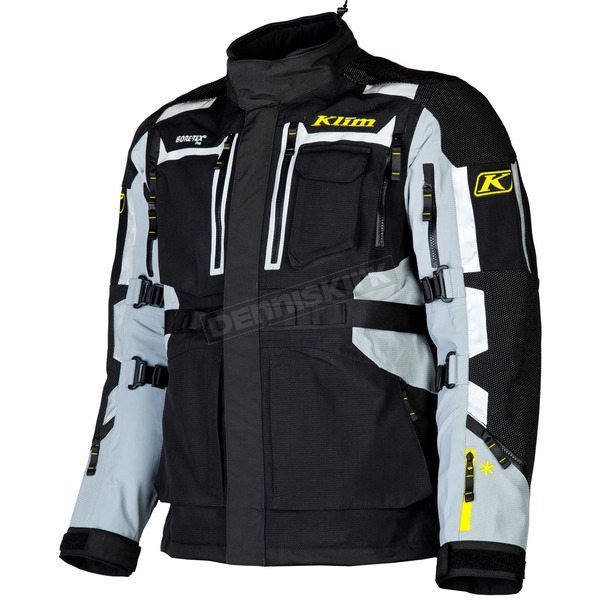 Klim Black/Gray Adventure Rally Jacket - 3291-004-120-600