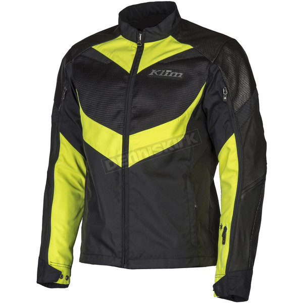 Klim Black/Hi-Vis Apex Air Jacket - 5062-000-120-500