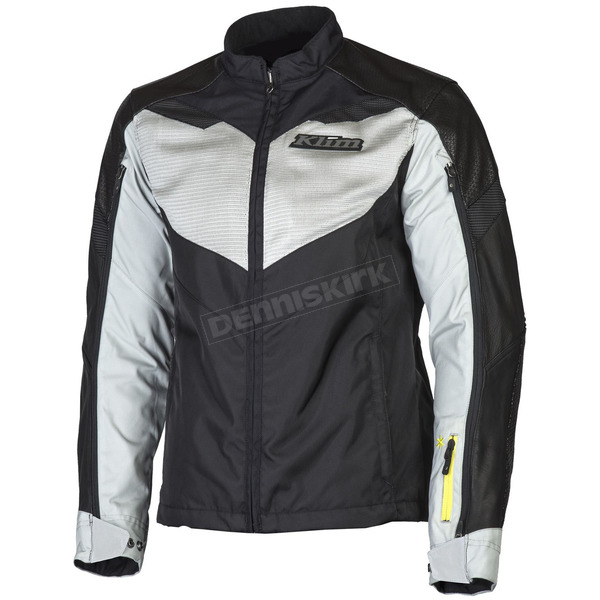 Klim Black/Gray Apex Air Jacket - 5062-000-170-600