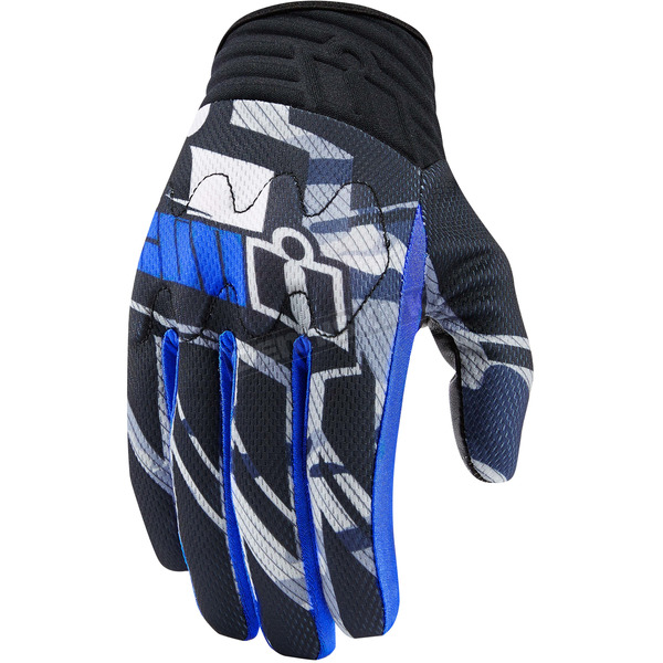 Icon Blue Anthem Primary Gloves - 3301-2711