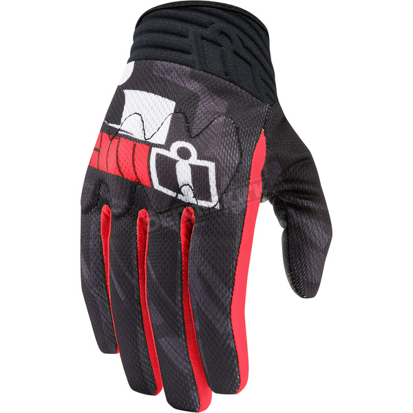 Icon Red Anthem Primary Gloves - 3301-2719