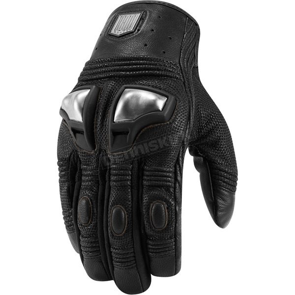 Icon 1000 Black Retrograde Gloves - 3301-2726