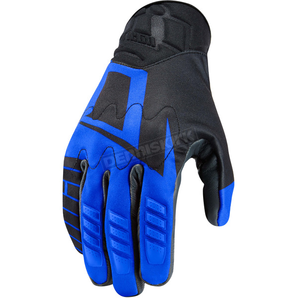 Icon Blue Wireform Gloves - 3301-2760