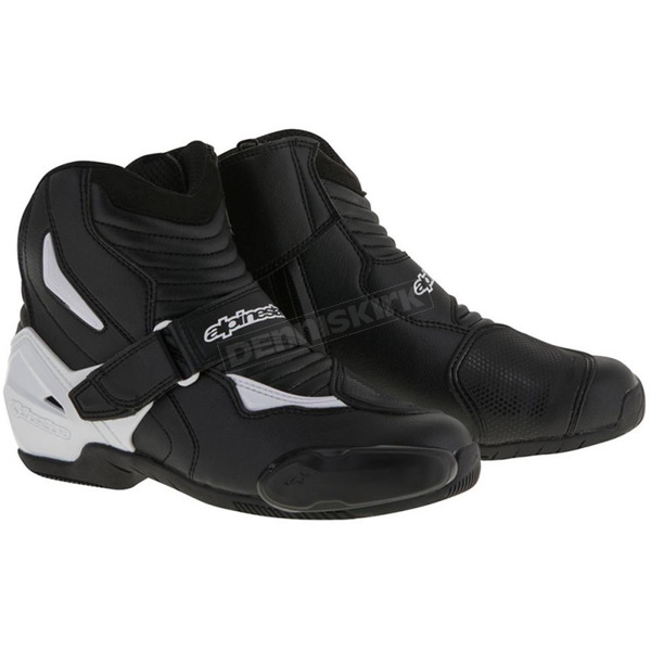 Alpinestars Black/White SMX-1R Boot - 2224516-12-42