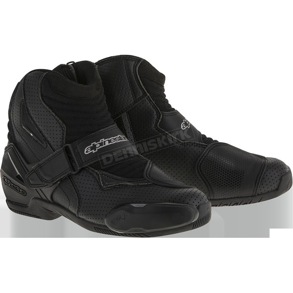 Alpinestars Black Vented SMX-1R Boot - 2224016-10-43