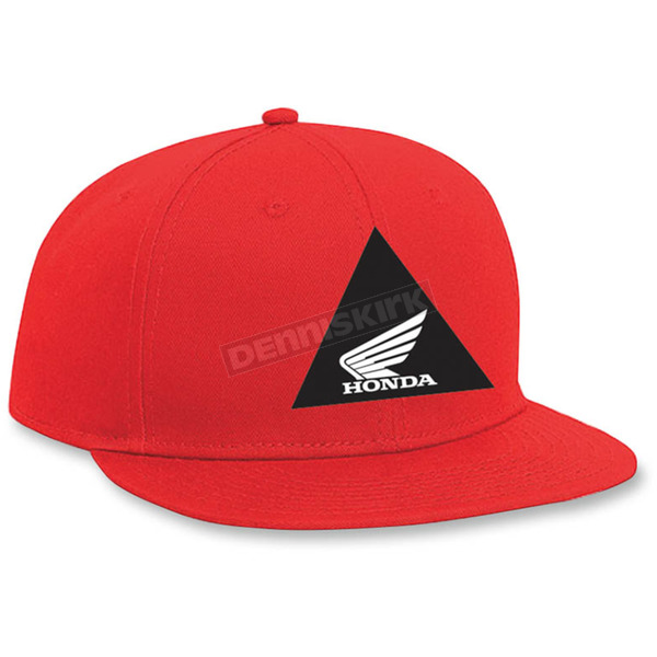 Factory Effex Youth Red Honda Snapback Hat - 19-86312