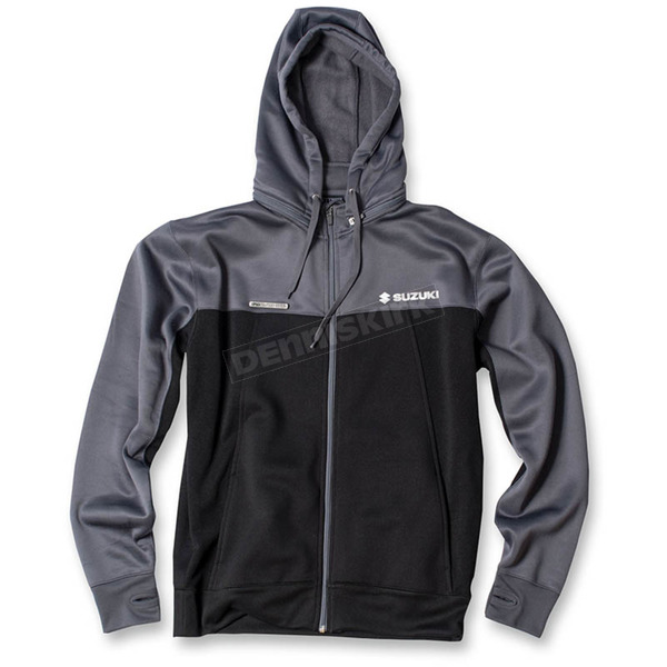 Factory Effex Black/Gray Suzuki Tracker Jacket - 18-85404