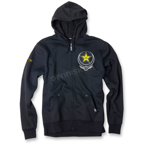 Factory Effex Black Imperial Rockstar Zip-Up Hoody - 17-88628