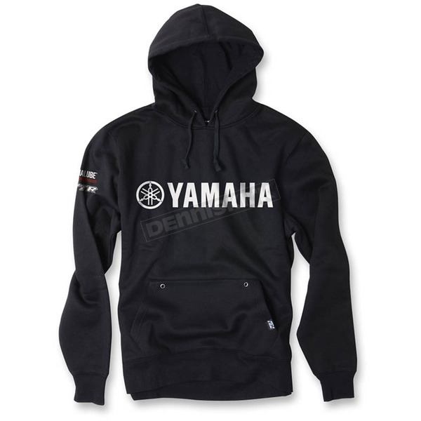 Factory Effex Black Yamaha Team Pullover Hoody - 16-88238
