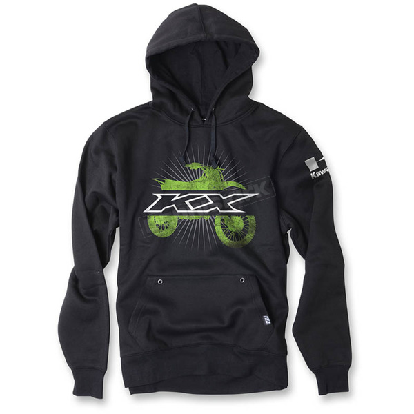 Factory Effex Youth Black Kawasaki Hoody - 19-83122