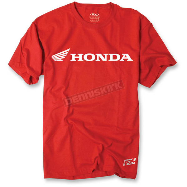 Factory Effex Red Honda Horizontal T-Shirt - 15-88336