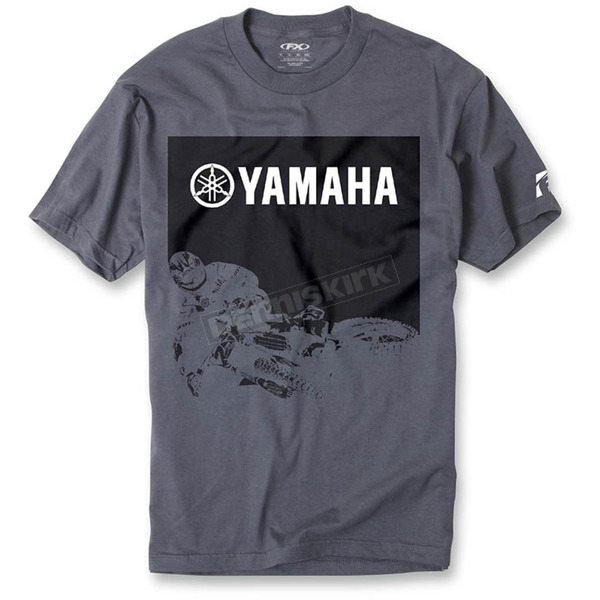 Factory Effex Charcoal Yamaha Whip T-Shirt - 16-88274