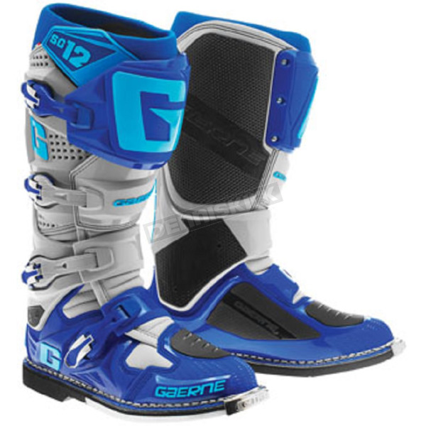Gaerne Blue/Gray SG-12 Boots - 2174-033-08
