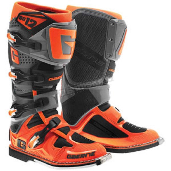 Gaerne Orange/Black SG-12 Boots - 2174-038-08