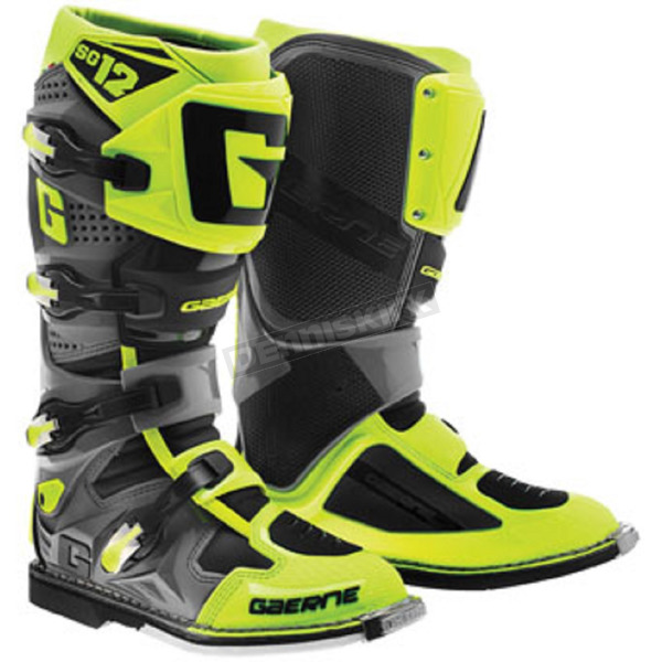 Gaerne Neon Yellow/Black SG-12 Boots - 2714-049-13