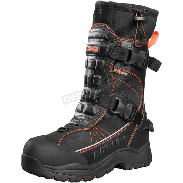 Castle X Orange/Black Barrier 2 Boots - 84-1811