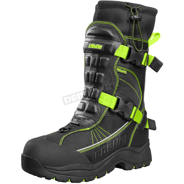 Castle X Hi-Vis/Black Barrier 2 Boots - 84-1827
