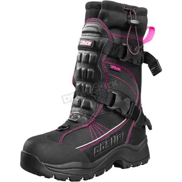 Castle X Women's Magenta/Black Barrier 2 Boots - 84-2229
