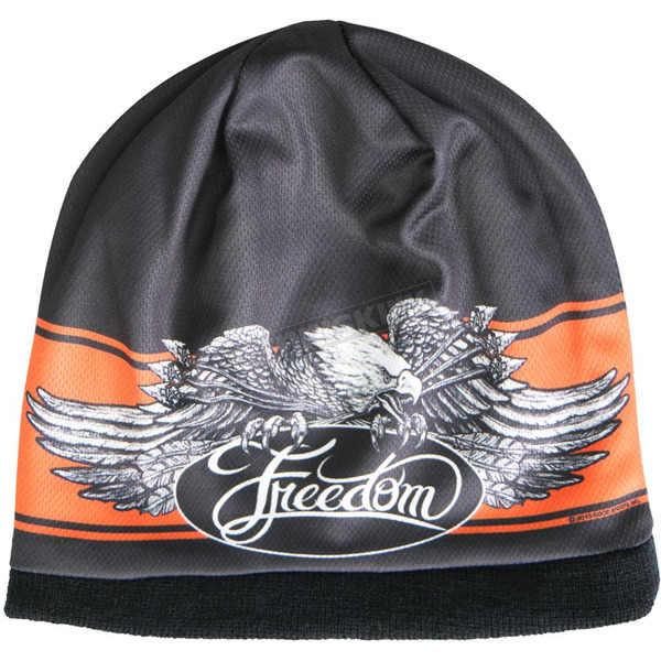 Hot Leathers Freedom Eagle Beanie  - KHC1004