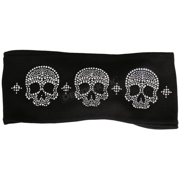 Hot Leathers Skulls Bling Wrap - RWC1002