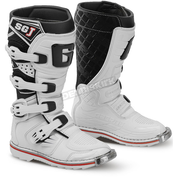 Gaerne Youth White SG-J Boots - 2166-004-05