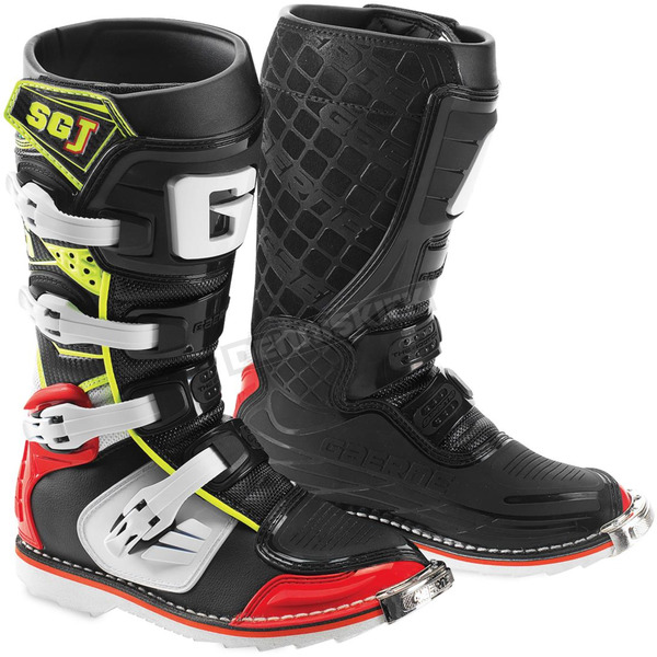 Gaerne Youth Red/Yellow/Black SG-J Boots - 2166-025-06