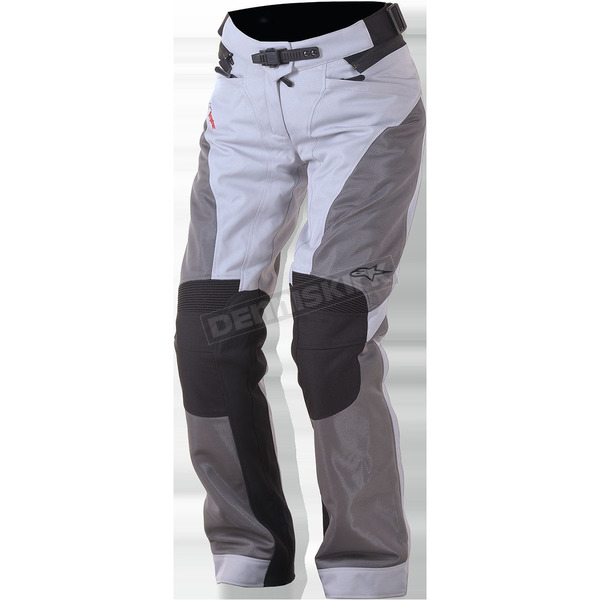 Alpinestars Women's Light Gray/Dark Gray Stella Sonoran Air Drystar OverPants - 3236616-922-S