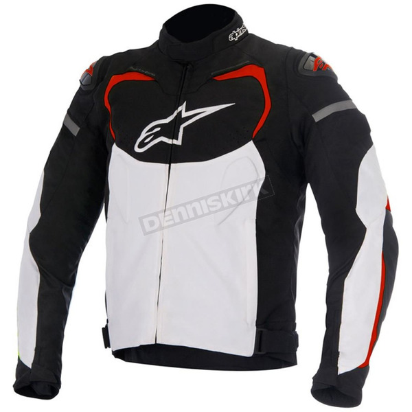 Alpinestars Black/White/Red T-GP Pro Textile Jacket - 3305016-123-2XL