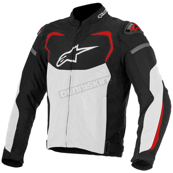 Alpinestars Black/White/Red T-GP Pro Air Textile Jacket - 3305116-123-2X