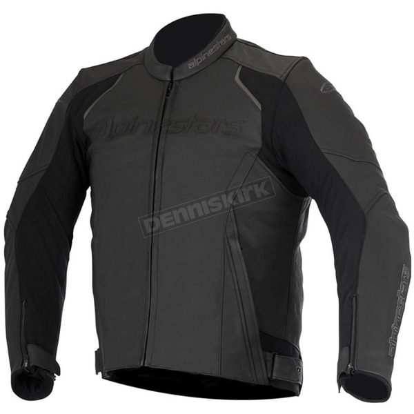 Alpinestars Black Devon Leather Jacket - 3102016-10-60