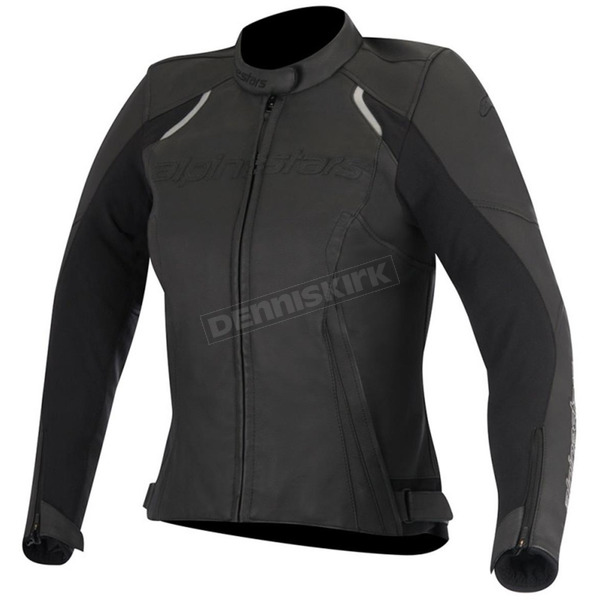 Alpinestars Women's Black Stella Devon Leather Jacket - 3112016-10-42