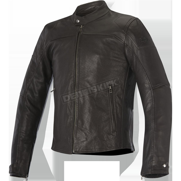 Alpinestars Tobacco Brown Brera Airflow Leather Jacket - 3107116-810-56