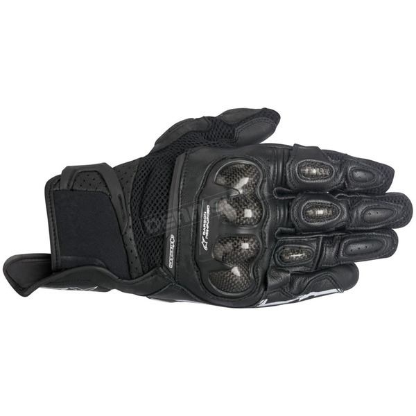 Alpinestars Black SPX Air Carbon Gloves - 3567316-10-M