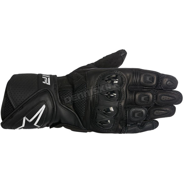 Alpinestars Black SP Air Leather Glove - 3558016-10-S