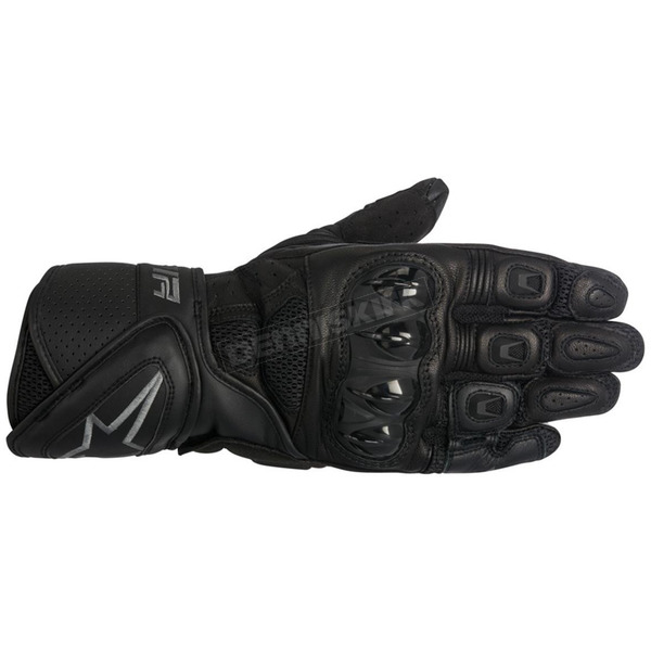 Alpinestars Black/Gray SP Air Leather Glove - 3558016-104-2XL