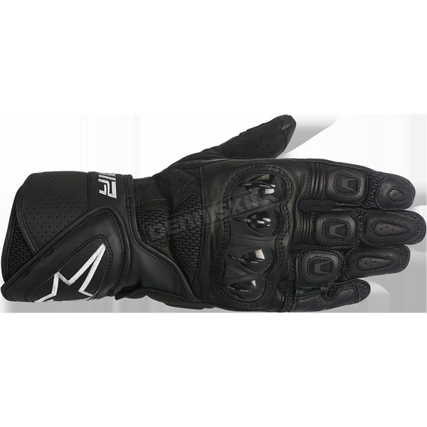 Alpinestars Women's Black Stella SP Air Leather Glove - 3518016-10-XL