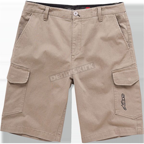 Alpinestars Khaki Radar Shorts - 1016230078938