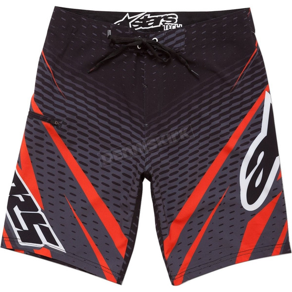 Alpinestars Black Spectacle Boardshorts - 1045240651032