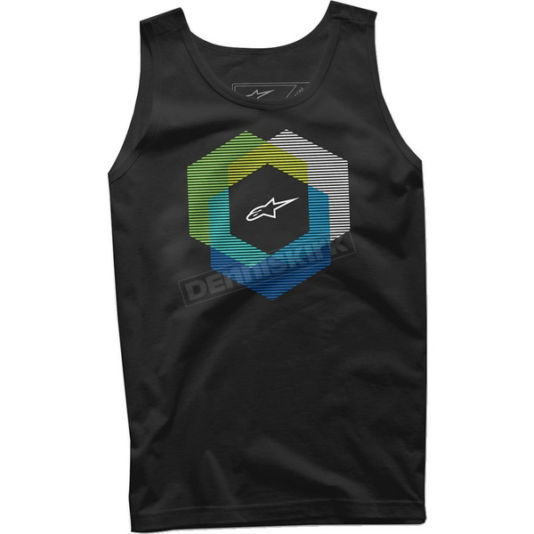 Alpinestars Black Tesseract Tank - 10167202610S