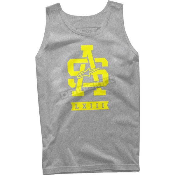 Alpinestars Heather Gray Tank - 101672027182S