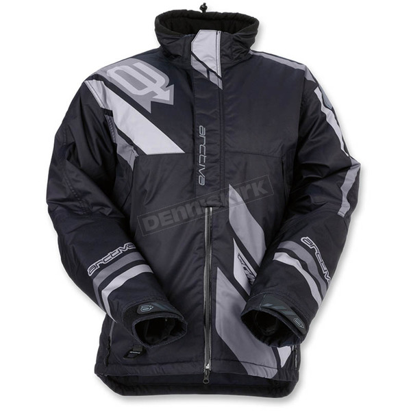 Arctiva Black/Gray Comp Insulated Jacket - 3120-1575