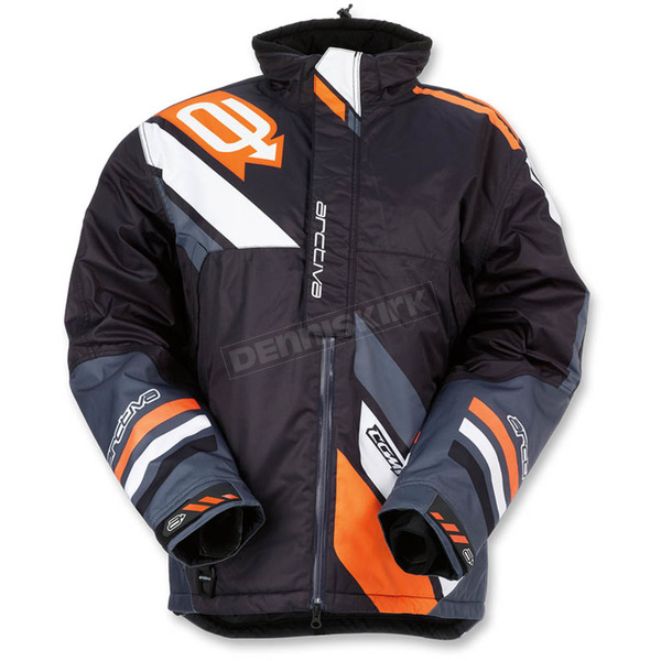 Arctiva Black/Orange Comp Insulated Jacket - 3120-1593