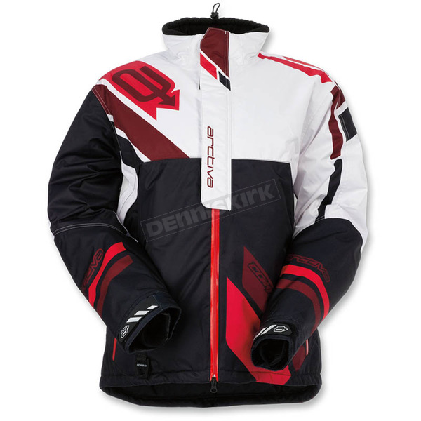 Arctiva Black/Red Comp Insulated Jacket - 3120-1596