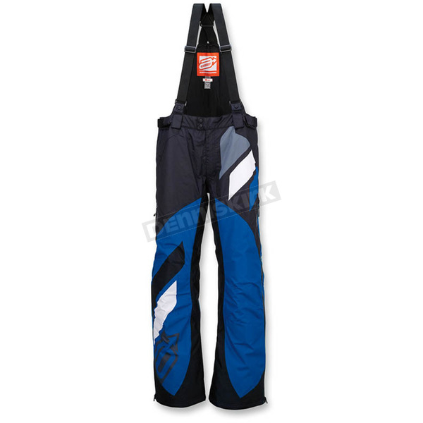 Arctiva Black/Blue Comp Insulated Bib - 3130-1087