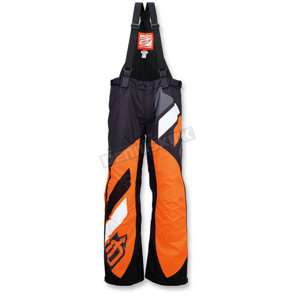 Arctiva Black/Orange Comp Insulated Bib - 3130-1095