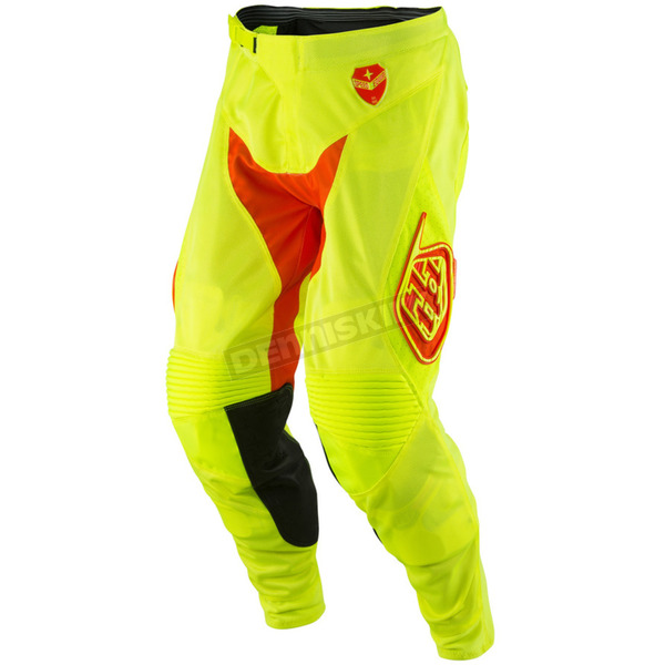 Troy Lee Designs Fluorescent Yellow/Orange SE Air Starburst Pants - 202013575